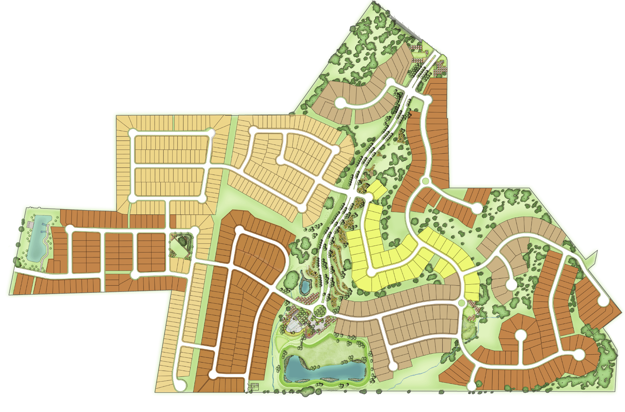 Orchard Ridge site plan
